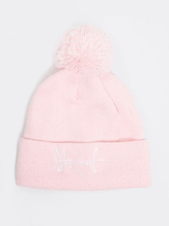STOPROCENT WINTER CAP KID TAG18 PINK