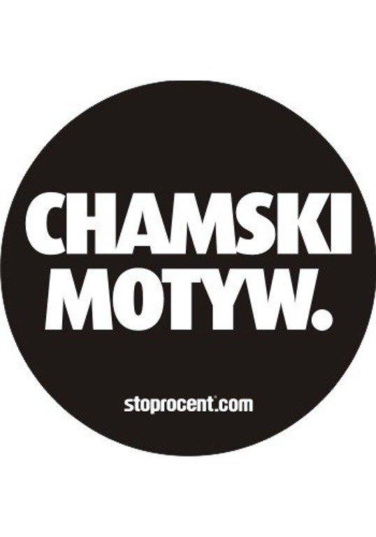 STOPROCENT WLEPA CHAMSKI MOTYW BLACK