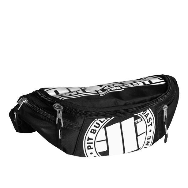 Saszetka Pitbull Big Bag Logo Black-White