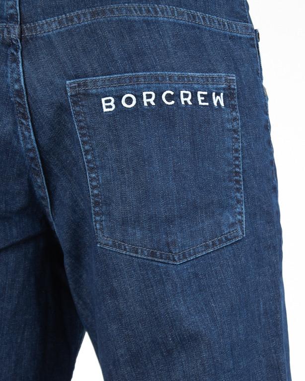 Spodenki Bor Jeans Classic Borcrew Medium