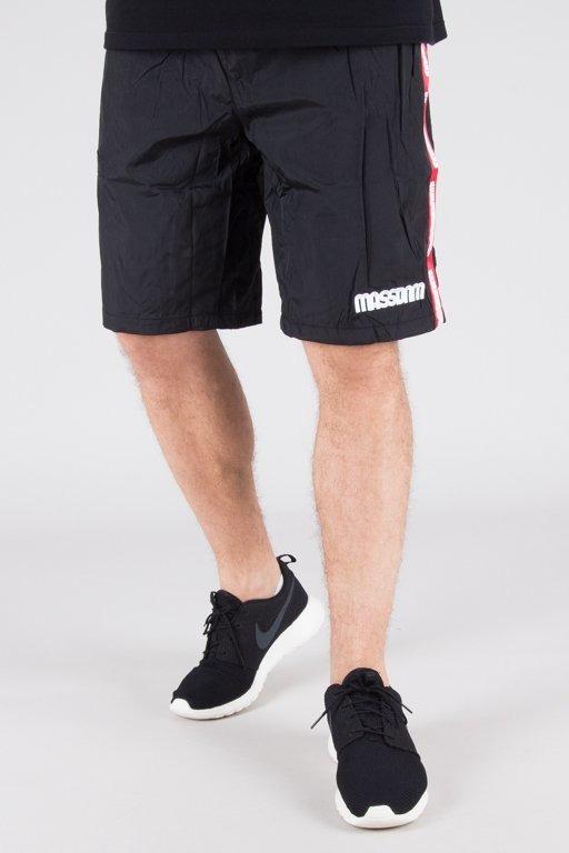 Spodenki Mass Sport Protect Black
