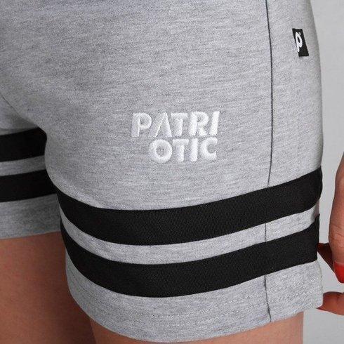 Spodenki Patriotic Girl Cls Grey