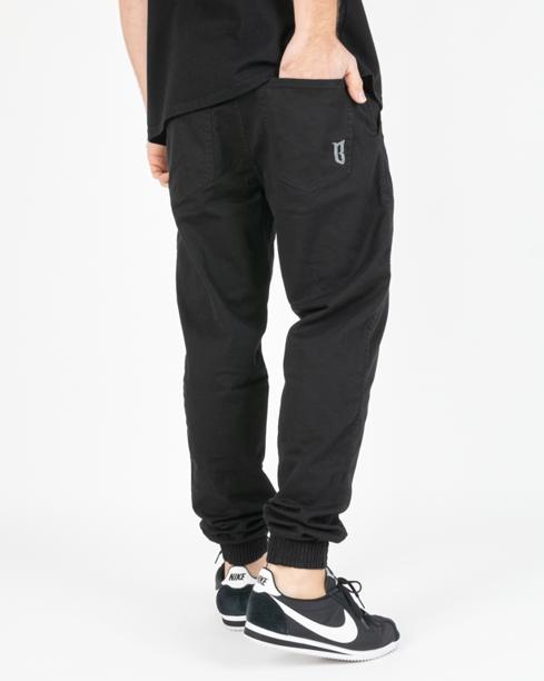 Spodnie Chino Jogger Bor Fit Black