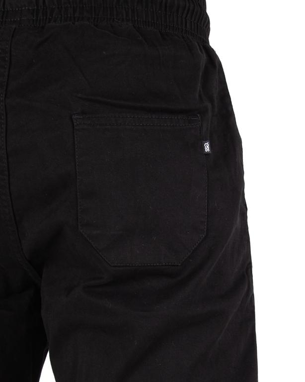Spodnie Chino Jogger Ssg Klasyk Guma Slim Black