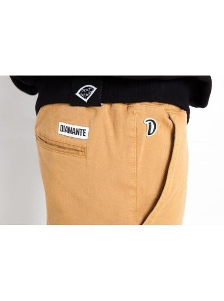 Spodnie Diamante Wear Chino Elegant Honey