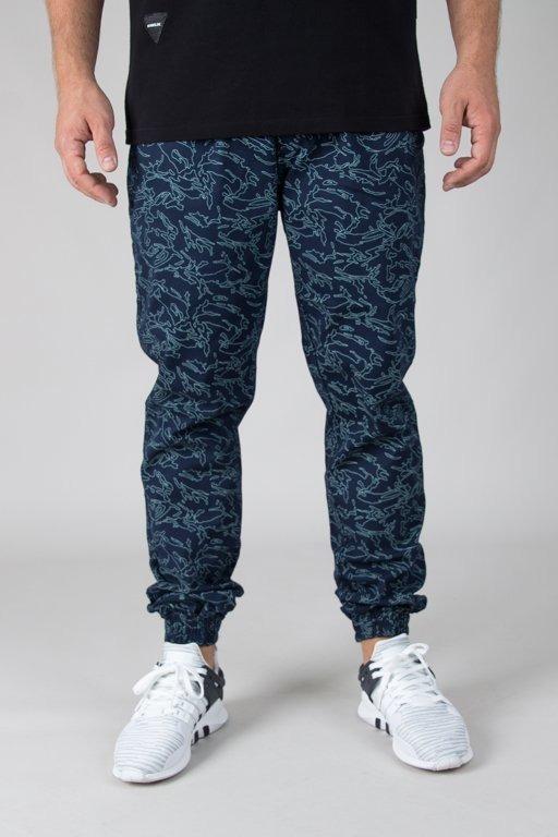 Spodnie Diamante Wear Chino Jogger Flight School Navy Camo
