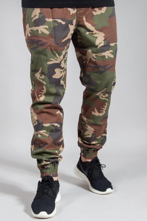 Spodnie Diamante Wear Chino Jogger Rm Camo Light