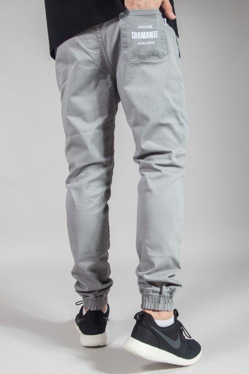 Spodnie Diamante Wear Chino Jogger Rm Grey