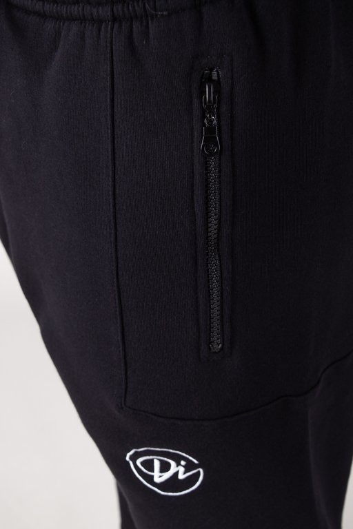 Spodnie Diamante Wear Dresowe Hipster Haft Black