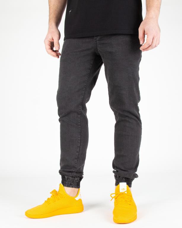 Spodnie Diamante Wear Jeans Jogger Marmur Black