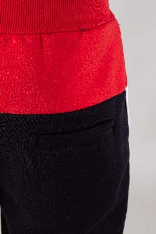 Spodnie El Polako Dresowe Fit School Red