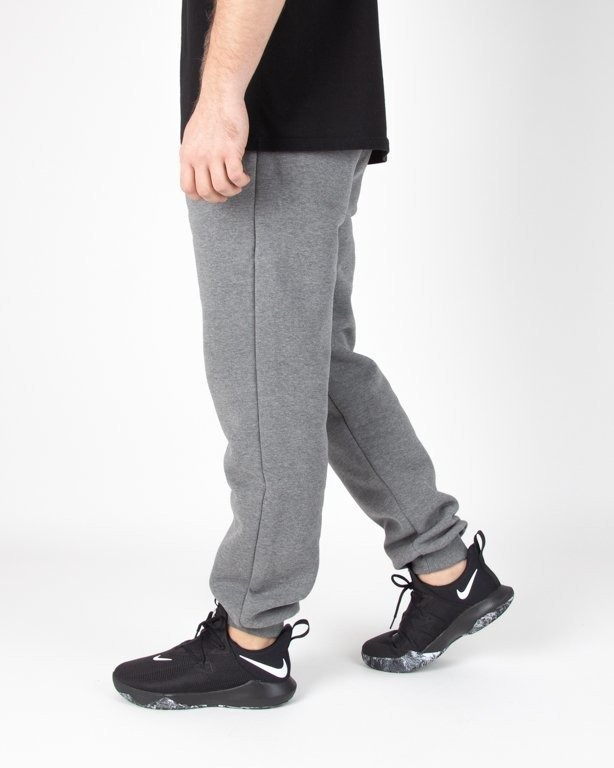 Spodnie El Polako Dresowe Regular Handmade Grey
