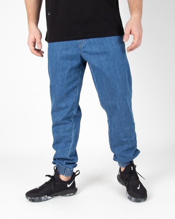 Spodnie El Polako Jeans Jogger Regular Handmade Light