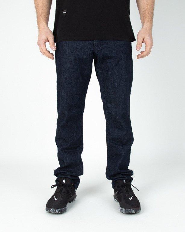 Spodnie El Polako Jeansowe Slim Classic Dark
