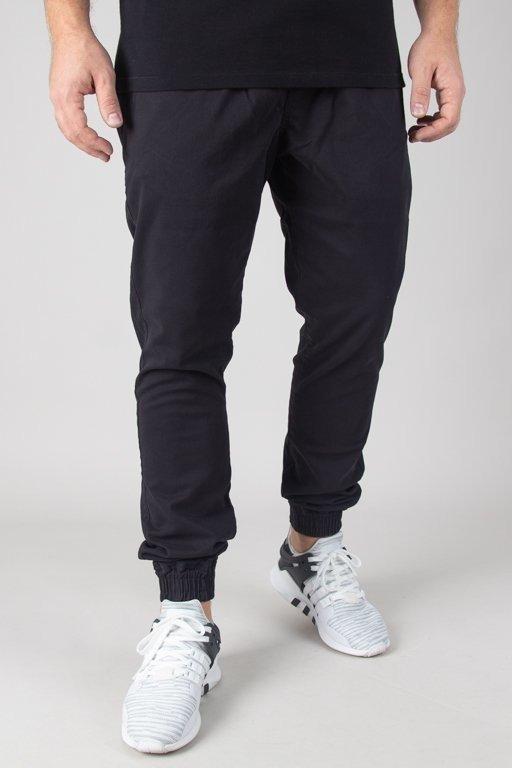 Spodnie Elade Chino Jogger New Haft Black