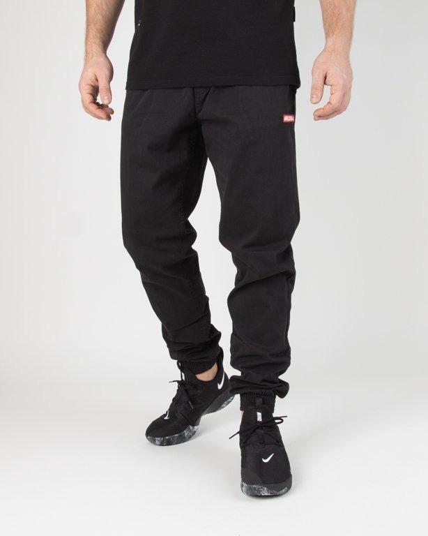 Spodnie Illegal Chino Jogger Slim Guma Small Red Black