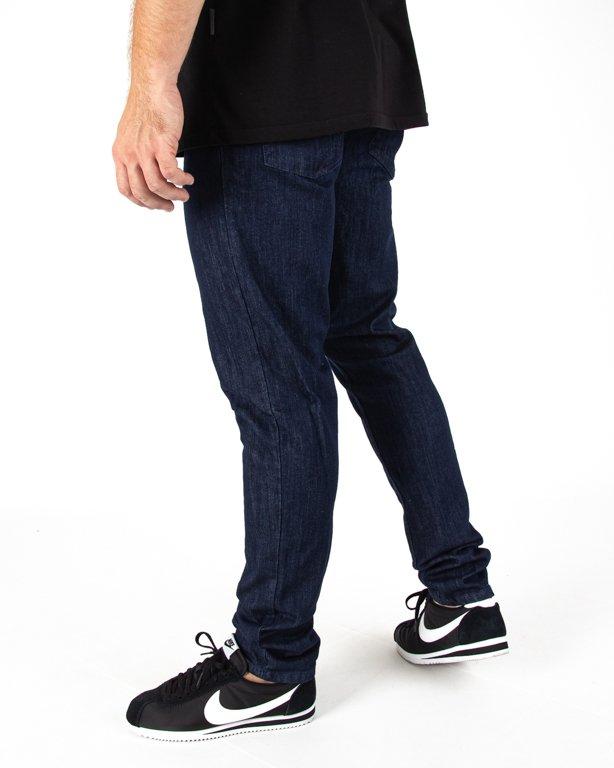 Spodnie Jeans Jogger Ssg Skinny Guma Dark