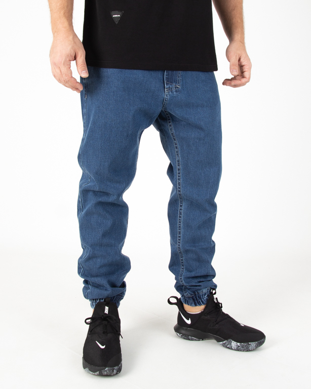 Spodnie Jeans Mass Jogger Base Blue