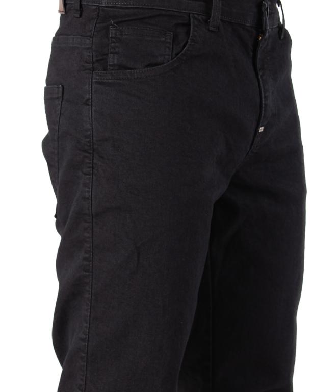 Spodnie Jeans Moro Blank Pocket Reular Czarny Jeans