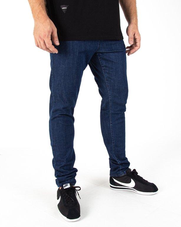 Spodnie Jeans Ssg Skinny Guma Medium