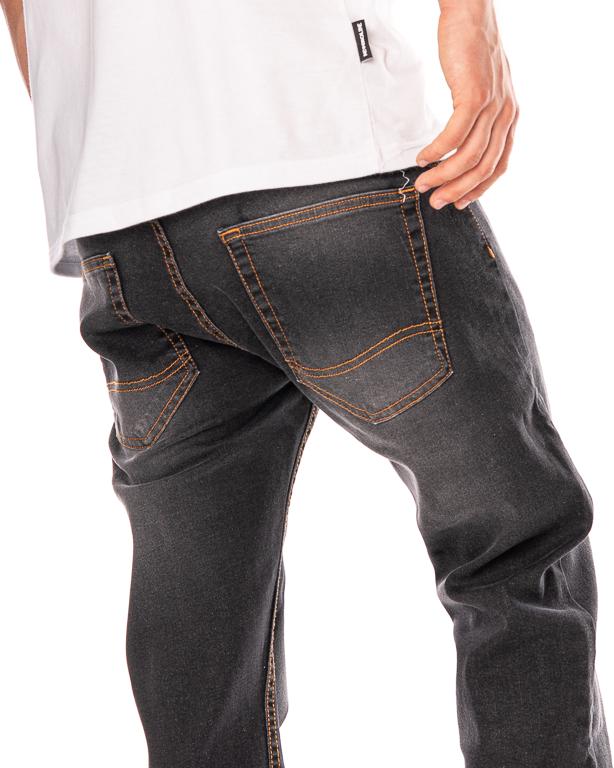 Spodnie Jeans Stoprocent Duel Black