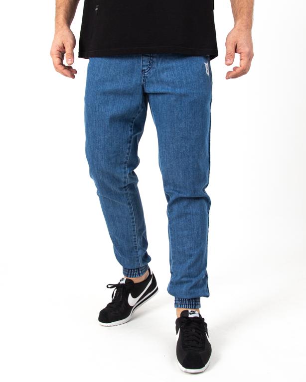 Spodnie Jogger Bor Fit Light Blue