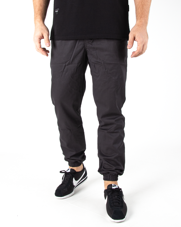 Spodnie Jogger Moro Mini Paris Pocket Szary Tkanina
