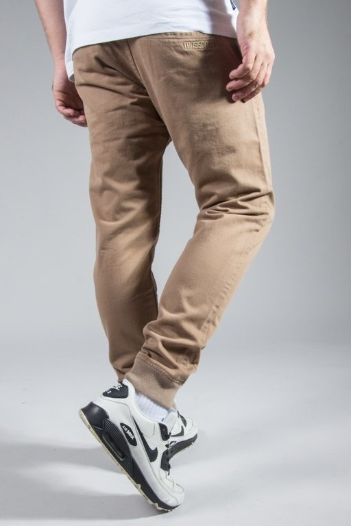 Spodnie Mass Chino Classic Sneakers Beige