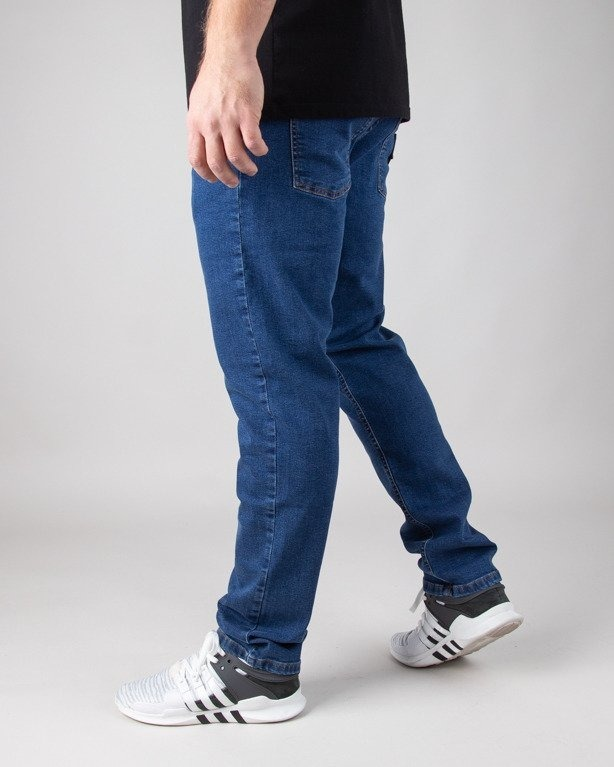 Spodnie Moro Jeansy Straight Fit Leather Shield Medium