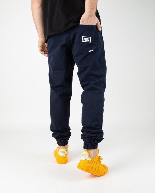 Spodnie New Bad Line Chino Jogger Icon Navy