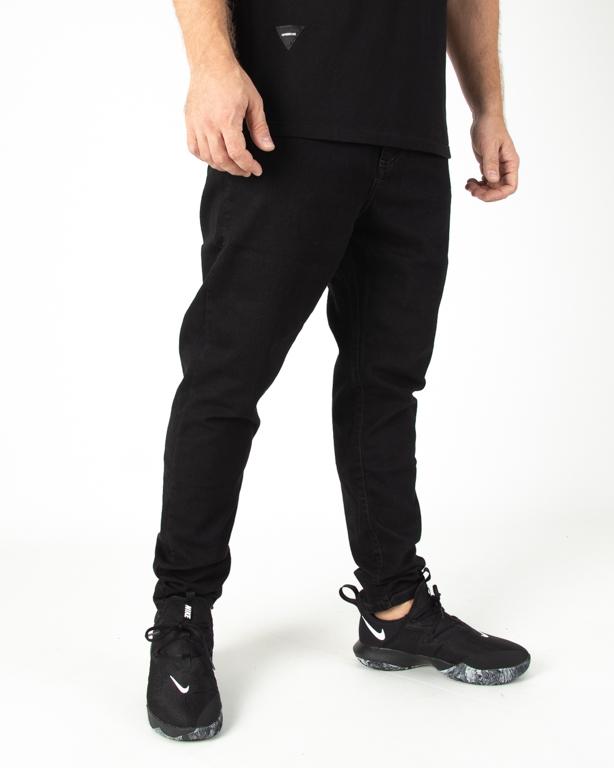 Spodnie Patriotic Jeans Futura Pelt Pin Roll Black
