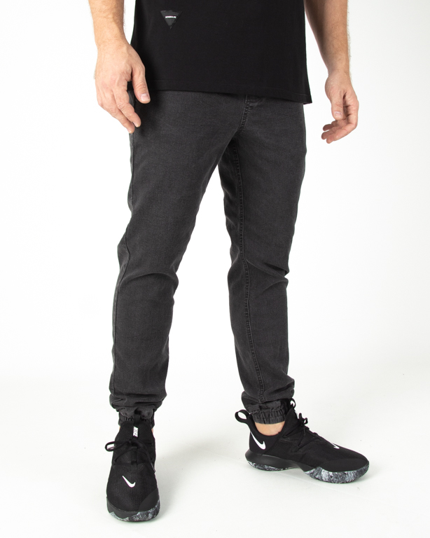 Spodnie Patriotic Jeans Jogger Laur Pelt Black