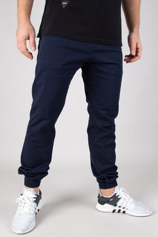 Spodnie Prosto Chino Jogger Jog Letup Navy
