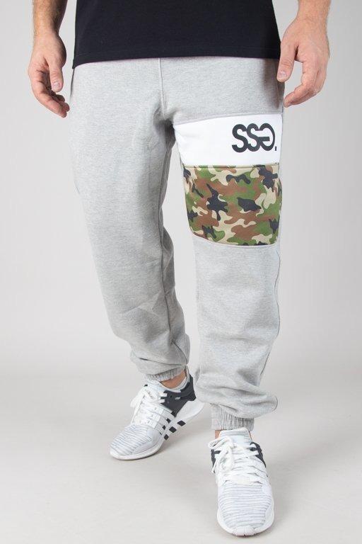 Spodnie SSG Dresowe Jogger Triple Moro Melange
