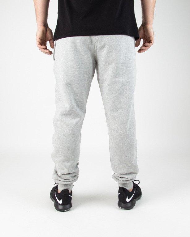 Spodnie SSG Dresowe Slim Classic SSG Melange