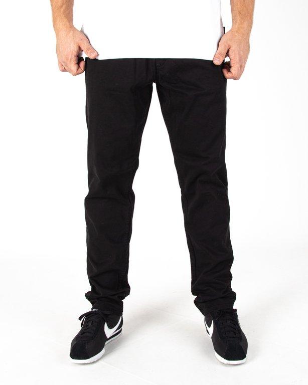 Spodnie Ssg Skinny Guma Black