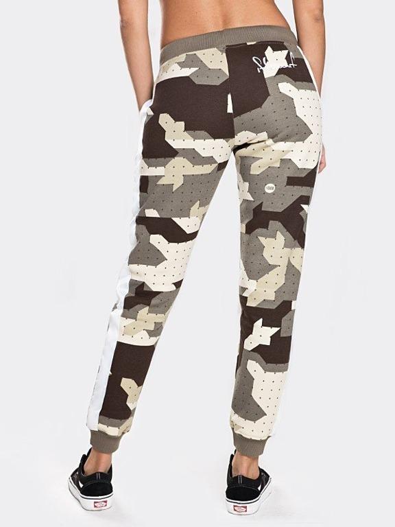 Spodnie Stoprocent Dresowe Tape Woman Camo