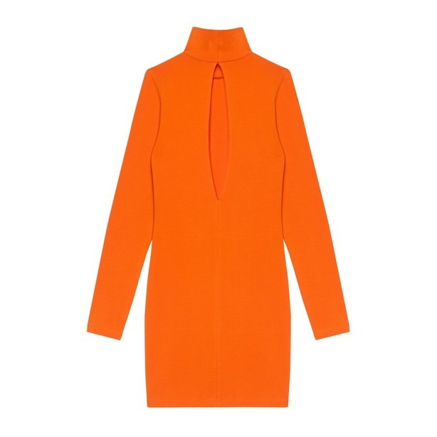 Sukienka Prosto Woman Line Orange
