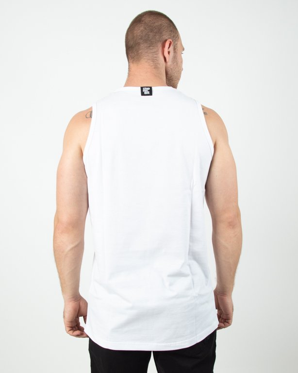 Tanktop Stoprocent Shift White
