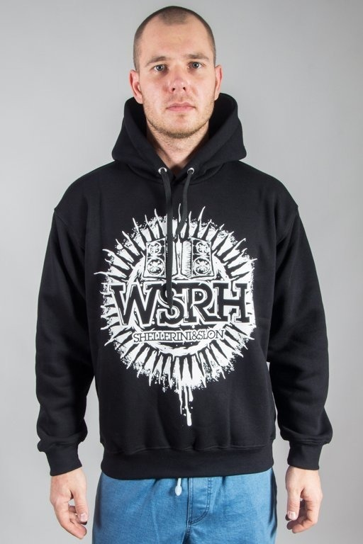 WSRH HOODIE SŁOŃCE BLACK
