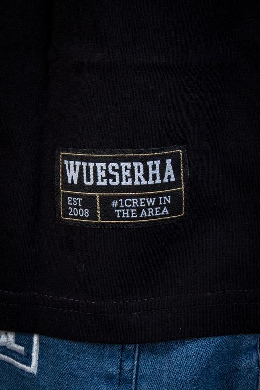 WSRH T-SHIRT CLASSIC LOGO BLACK-YELLOW